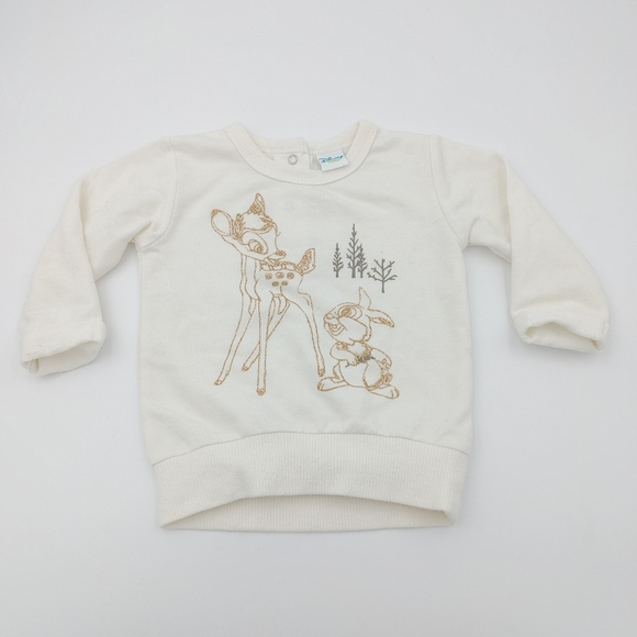 Disney Bambi sweatshirt size 6 mont
